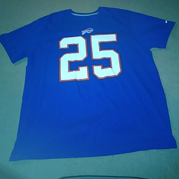 1389e936 Buffalo Bills LeSean McCoy Name and Number t-shirt